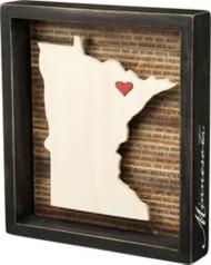 Primitives By Kathy Minnesota Box Sign