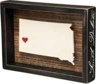 Primitives By Kathy South Dakota Box Sign