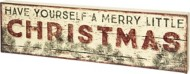 Primitives by Kathy A Merry Christmas Box Sign