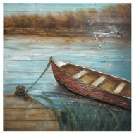 Crestview Collection Docked Print on Wood