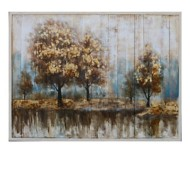 Crestview Collection Season Ending Painting on Wood