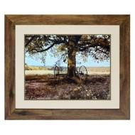 Crestview Collection Aux Arbiels Oak Print