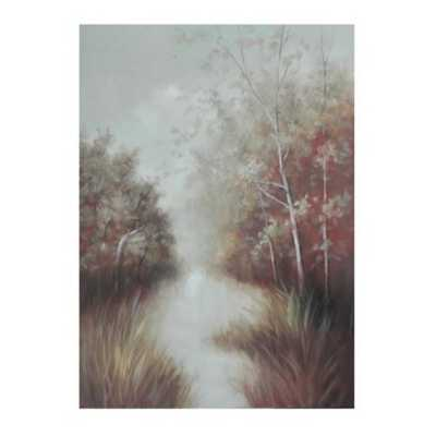 Crestview Collection Misty Morn Canvas Painting