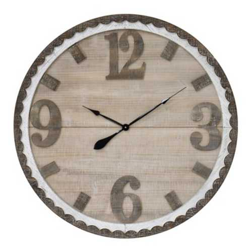 Crestview Collection Ticking Time Wall Clock
