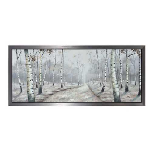 Crestview Collection Backwoods Framed Canvas