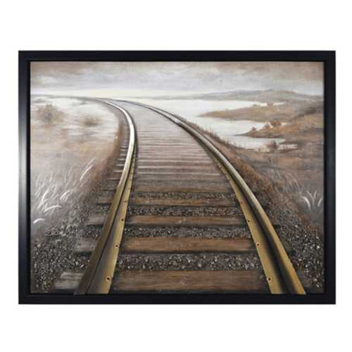 Crestview Collection Rushing Way Framed Print