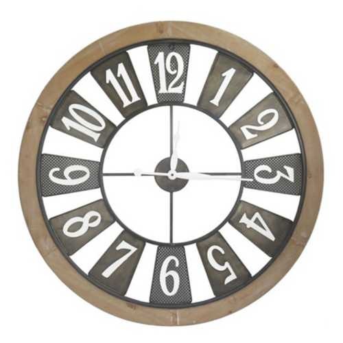 """Crestview Collection """"Clock In"""" Wall Clock"""