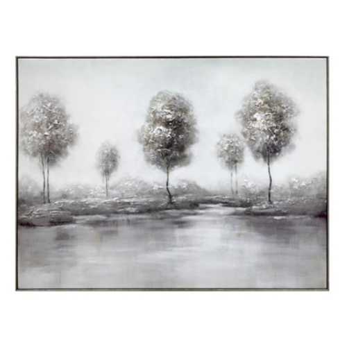 Crestview Collection Shaded Trees Framed Print