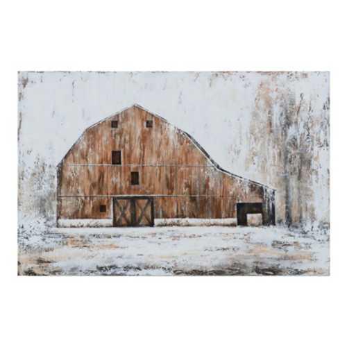 Crestview Collection Hammond Barn Canvas