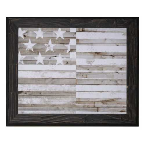 Crestview Collection Americana Flag Framed Print