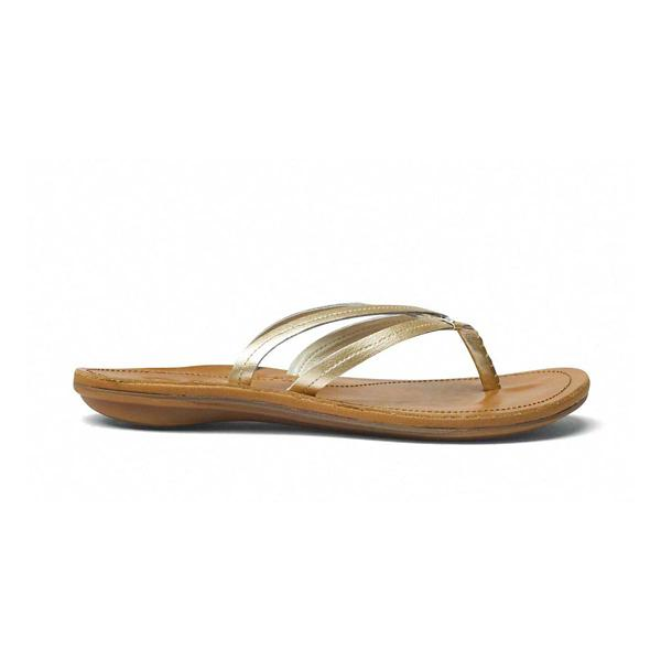 7abf6dfcca70 ... Women s OluKai UI Leather Flip Flop Sandals Tap to Zoom  Pewter Sahara  Tap to Zoom  Bubbly Sahara