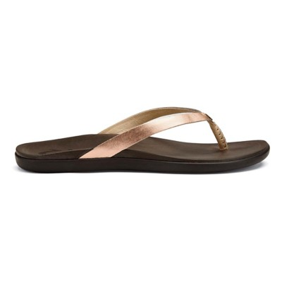 Women's OluKai Ho'opio Leather Sandals