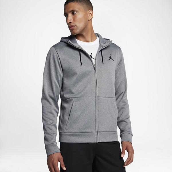 a690a4d84224 Men s Nike Jordan Therma 23 Alpha Training Full Zip Hoodie