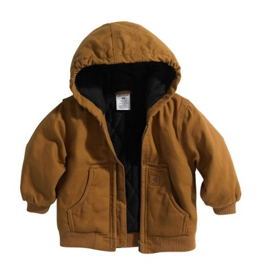 Toddler Boys' Carhartt Flannel Lined Quilted Jacket