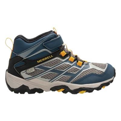 6d8ffd2fc2e Preschool Boys' Merrell Moab FST Mid Waterproof Hiking Boots
