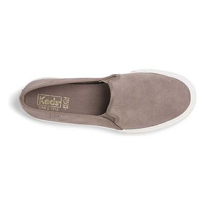 Women's Keds Double Decker Suede Slip On Shoes