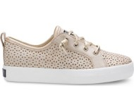 Preschool Girls' Sperry Crest Vibe Perforated Shoes