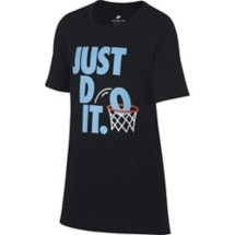 Youth Boys' Nike Sportswear Just Do It Basketball T-Shirt