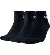 Adult Nike 3 Pack Cushion Quarter Socks
