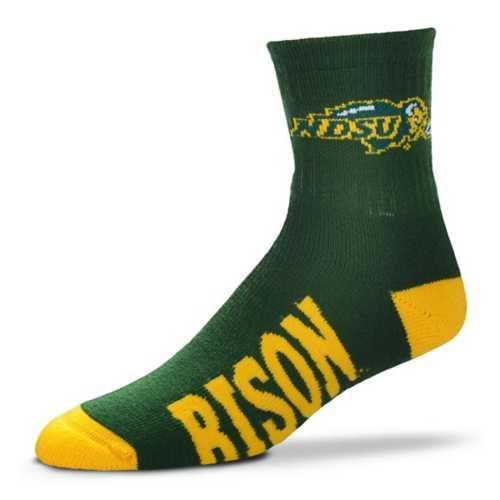 For Bare Feet North Dakota State Bison Team Crew Socks