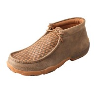 Men's Twisted X Woven Top Driving Moc shoes
