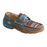 Women's Twisted X Colored Moccasins