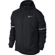Men's Nike Shield Hooded Running Jacket