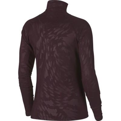 Women's Nike Pro Warm Long Sleeve 1/2 Zip