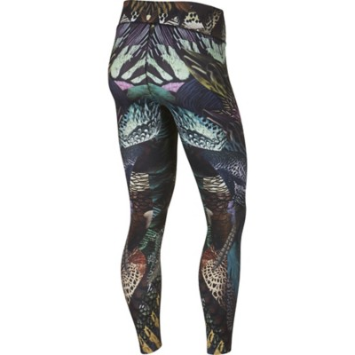 Women's Nike Power Training Birds of Paradise Printed Tight