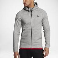 Men's Nike Jordan Sportswear Wings Fleece Full Zip Hoodie