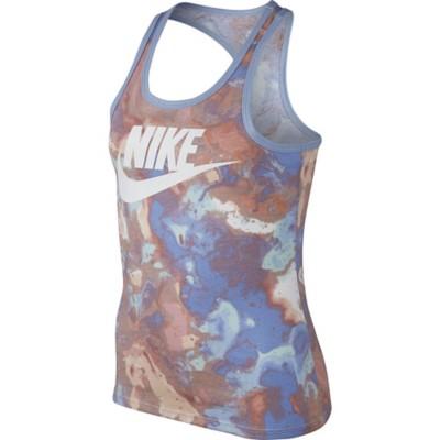 Grade School Girls' Nike Sportswear Amoeba Graphic Tank
