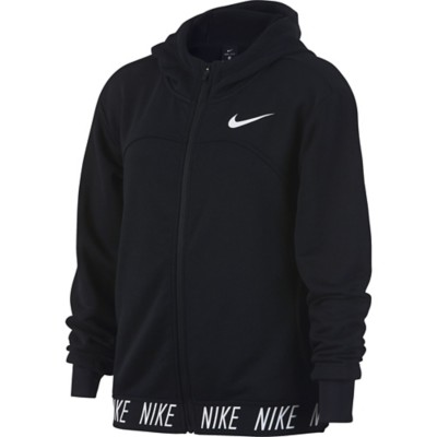 Youth Girls' Nike Dry Full Zip Training Hoodie