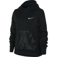 Youth Girls' Nike Therma Graphic Training Hoodie
