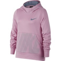 Youth Girls' Nike Therma Graphic Training Hoodie