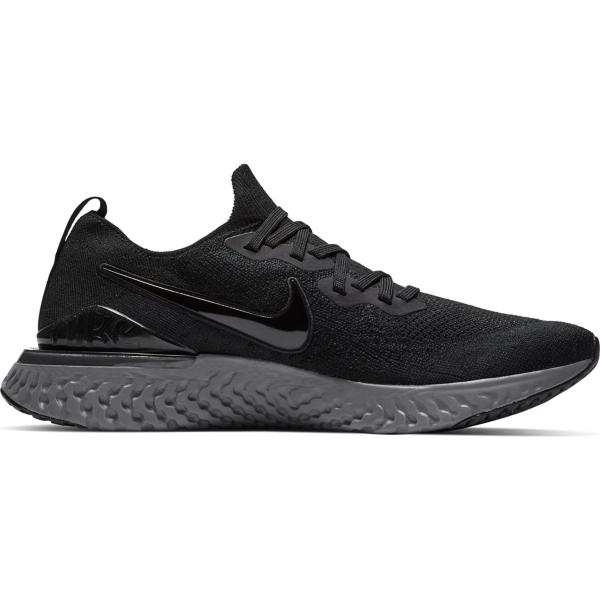 6a5fde8c68 ... Men's Nike Epic React Flyknit 2 Running Shoes Tap to Zoom;  Black/Black-White-Gunsmoke