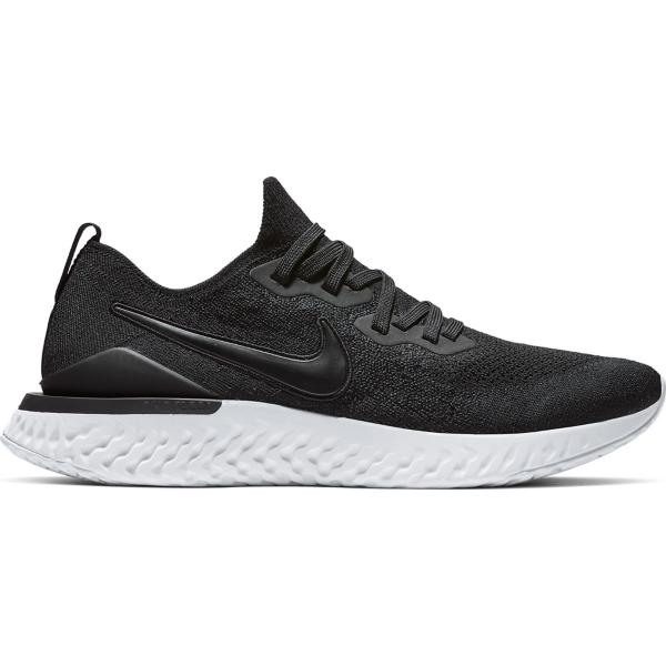 new concept 5fac7 19c90 ... Men s Nike Epic React Flyknit 2 Running Shoes Tap to Zoom  Black Black- White-Gunsmoke Tap to Zoom  Black Black-Gunsmoke