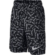 Youth Boys' Nike Dry Just Do It All Over Print Short