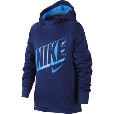 Youth Boys' Nike Therma Graphic Logo Training Hoodie