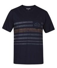 Men's Hurley Kanpai Stripe Pocket Short Sleeve Shirt