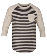 Men's Hurley Gunwhale Crew 3/4 Sleeve Shirt