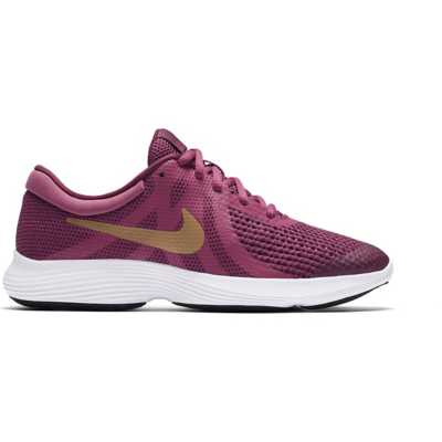 Girls' Nike Revolution 4 Lace Running Shoes