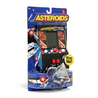 Handheld Asteroids Arcade Game