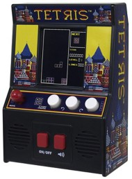 Basic Fun Arcade Classics Tetris Retro Handheld Arcade Game
