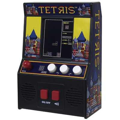 Basic Fun Arcade Classics Tetris Retro Handheld Arcade Game