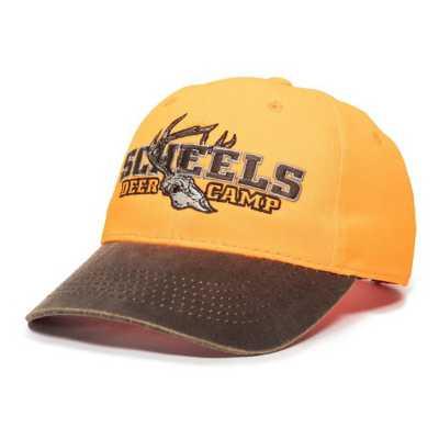 Men's Scheels Outfitters Deer Camp Blaze Orange Cap