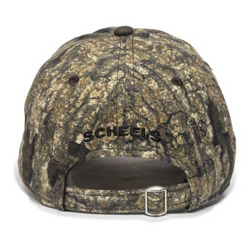 Scheels Outfitters Realtree Timber Logo Cap