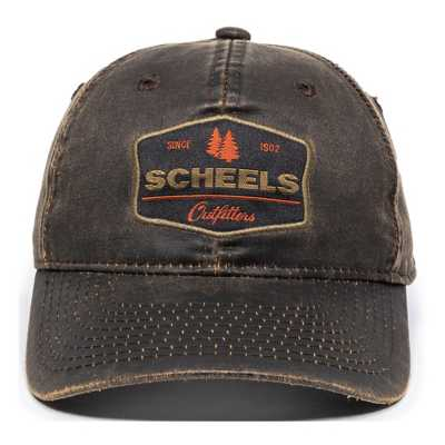 Adult Scheels Outfitters Since 1902 Logo Hat