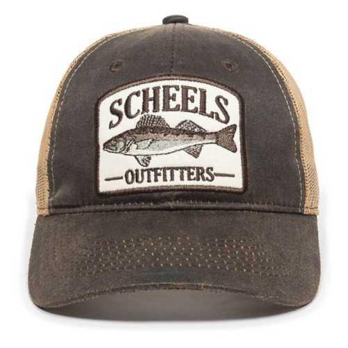 Scheels Outfitters Walleye Logo Cap