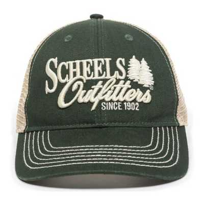 Scheels Outfitters Forest Logo Cap