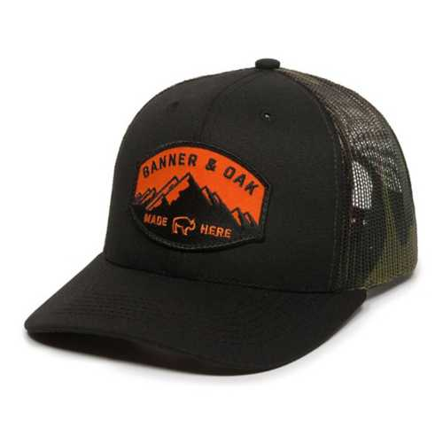 Men's Banner & Oak Leather Nebo Cap